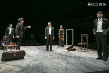 左より 加藤虎ノ介、段田安則、近藤芳正、伊勢佳世、相島一之.JPG